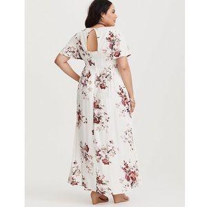 torrid Dresses - TORRID High-Low Floral Romper-Dress